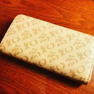 とってもかわいくておしゃれなお財布を見つけました!